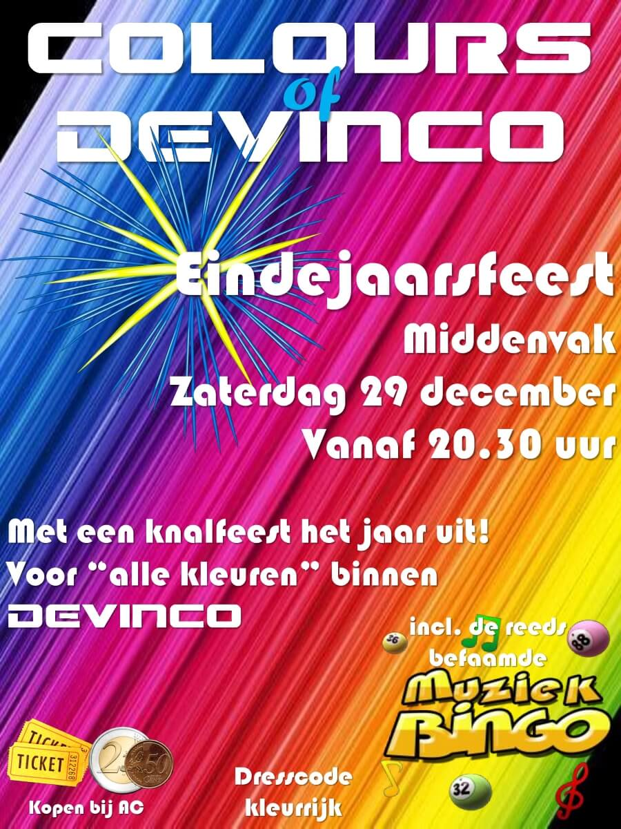 Eindejaarsfeest 2018 Colours of Devinco 2pn 900px
