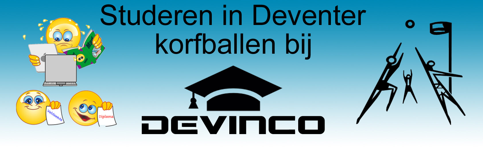 Studentenkorfbal Devinco slider